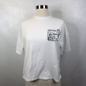 Gathering All or Nothing Comic White T-shirt